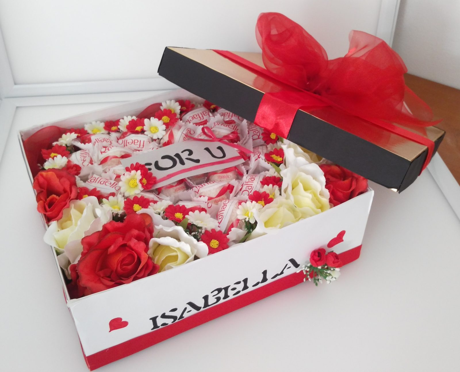 Box s cukrovinkami