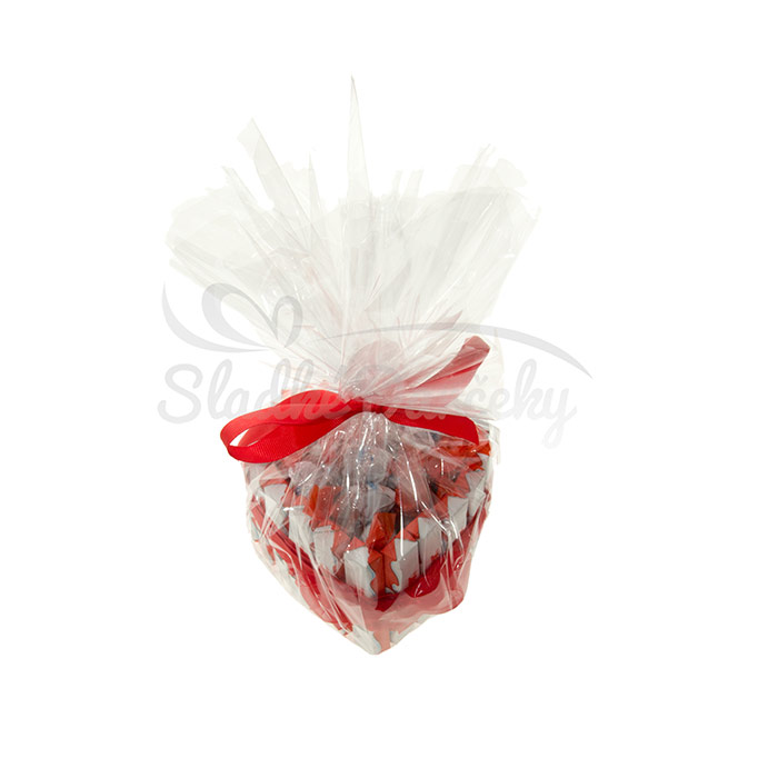 Kinder srdiečko malé sladká torta