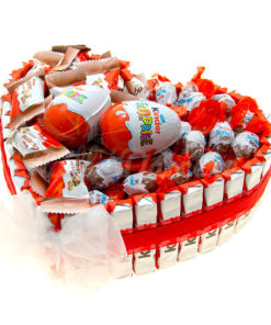 Kinder Srdiečko sladká torta